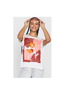 Camiseta Cantão Valente Branca