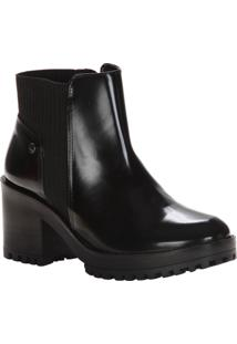 Ankle Boot Via Marte - Feminino-Preto