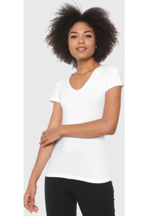 Blusa Malwee Reta Básica Branca