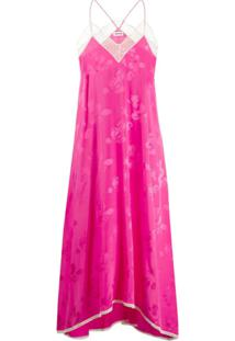 Zadig&Voltaire Slip Dress Risty Jac Paisley - Rosa