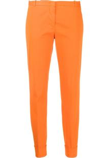 Fabiana Filippi Tailored Slim-Fit Trousers - Laranja