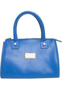 Bolsa Dumond Placa Média Azul