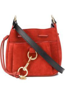 See By Chloé Slouchy Shoulder Bag - Vermelho