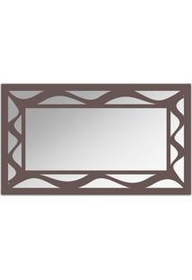Espelho De Parede 12877I Marrom 70X110 Art Shop