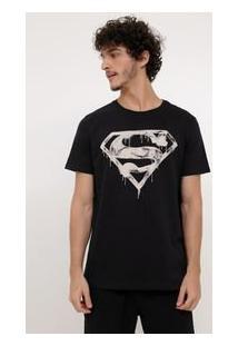 Camiseta Com Estampa Que Brilha No Escuro