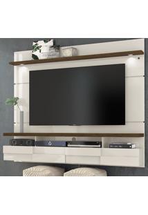 Painel Para Tv 2 Portas Lana 180 Cm 276122 Off White/Savana - Madetec