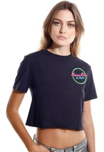a9851cfe2193 R$ 89,40. Restoque Camiseta Rosa Chá La Malha Preto Feminina ...
