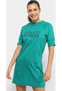 Vestido Colcci Fitness Power - Feminino-Verde