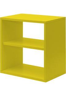 Nicho Com Prateleira Amarelo L 40 X P 24 X A 40