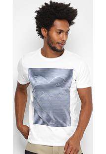 Camiseta Redley Listras Coqueiro Masculina - Masculino