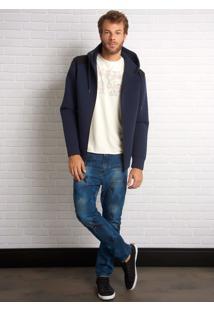 Calça John John Rock Dunvegan 3D Jeans Azul Masculina Cc Rock Dunvegan 3D-Jeans Medio-40