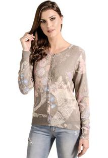 Cardigan Estampado Winthrop