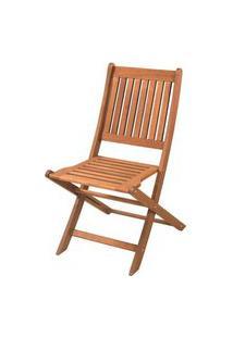 Cadeira Dobravel Sem Braco Cor Stain Jatoba - 15557 Jatoba