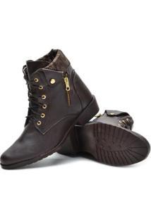 Bota Sw Shoes Cano Curto Estilo Feminina - Feminino