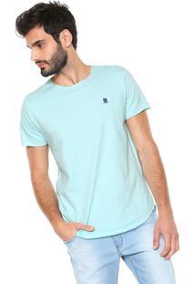 Camiseta Polo Wear Vintage Corte Laser Azul