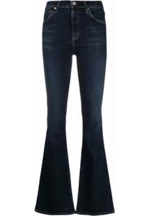 Citizens Of Humanity Calça Jeans Flare Cintura Alta - Azul