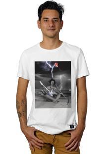 Camiseta Perplex Eletric Guitar Branco