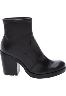 Bota Block Heel Strech Black | Schutz