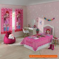 25b18144b5 Jogo De Cama Infantil Com 3 Peças Rainbow Ruby Ii Algodão Rosa