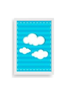 Quadro Love Decor Decorativo Infantil Nuvens