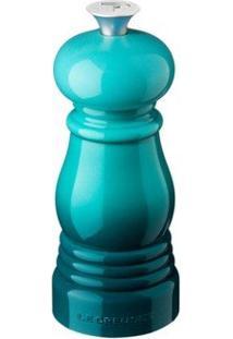 Mini Moedor De Pimenta Azul Caribe Le Creuset