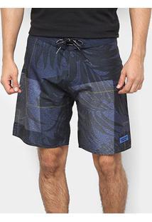 Bermuda D'Água Calvin Klein Estampada Masculina - Masculino