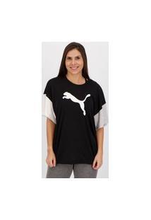 Camiseta Puma Modern Sports Fashion Feminina Preta
