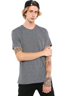 Camiseta Mcd Stripe Preta/Branca