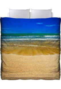 Edredom Colours Creative Photo Decor - Praia Azul