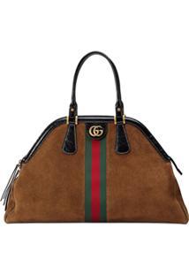 4b4ea4148 Ir para a loja; Gucci Bolsa Tote 'Re(Belle)' Grande - Marrom
