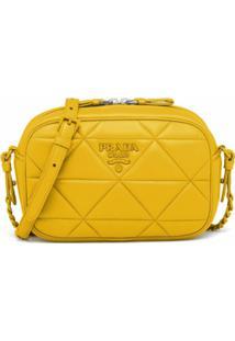 Prada Bolsa Tiracolo Spectrum - Amarelo