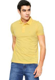 Camisa Polo Polo Wear Lisa Amarela