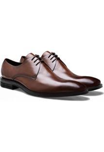 Sapato Social Brogan Derby Philp Masculino - Masculino-Marrom