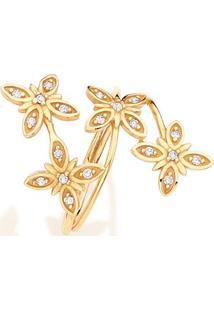 Anel Em Ouro Amarelo 18K Com Diamante - Marie 23