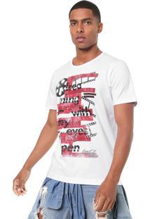 Camiseta Coca-Cola Jeans Cinema Branca