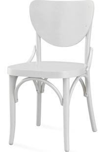 Cadeira Jantar Laca Branca - Eléonore - 44X49,5X82,5 Cm