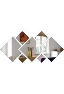 Espelho Decorativo De Vidro Personalizável 95X45 Cm