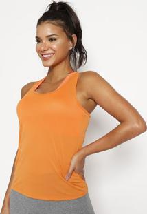 Regata Nadador Lisa- Laranjaphysical Fitness