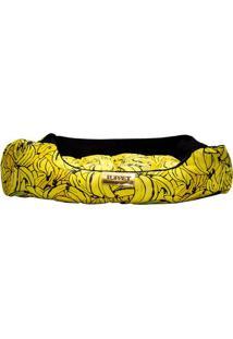 Cama Retangular Bananas- Amarela & Preta- 17X50X40Cm4 Patas
