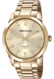 735578932d1 ... Relógio Seculus Feminino Long Life 28880Lpsvda1