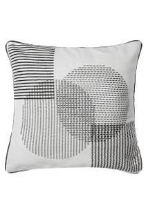 Capa Almofada Composition Circles 45 X 45 Cm - Home Style