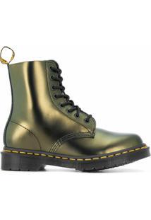 Dr. Martens Ankle Boot Pascal Metalizada - Dourado