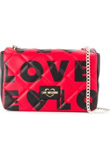Love Moschino Bolsa Tiracolo Love - Preto