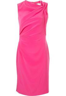 Lanvin Vestido Midi - Rosa