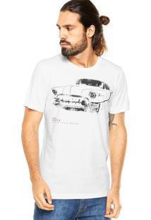 Camiseta Sommer Car Branca