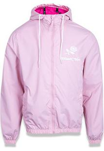 Jaqueta New Era Wind Girls Thank You Feminina - Feminino-Pink