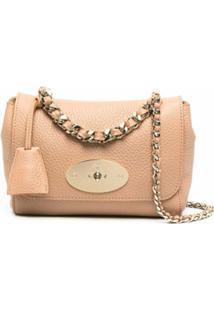 Mulberry Lily Leather Shoulder Bag - Rosa
