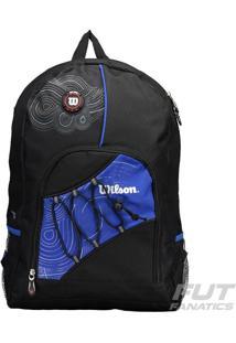 Mochila Wilson Ix12265C Preta E Azul