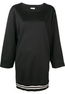 Moncler Vestido De Moletom - Preto