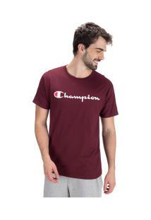 Camiseta Champion Classic Jersey Graph - Masculina - Vinho